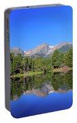 Dreamy Reflex At Sprague Lake Portable Battery Charger