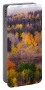 Dreamy Rocky Mountain Autumn View Portable Battery Charger