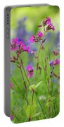 Dreamy Wildflowers Portable Battery Charger