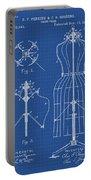 Dress Form Patent 1891 Blueprint Portable Battery Charger
