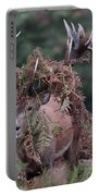 Dressed Red Stag Portable Battery Charger