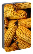 Dried Corn Cobs Portable Battery Charger