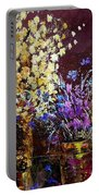 Dried Flowers  Portable Battery Charger