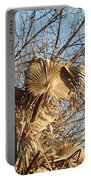 Dried Palm Fronds  Portable Battery Charger