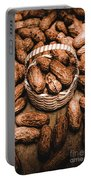 Dried Whole Peanuts In Their Seedpods Portable Battery Charger
