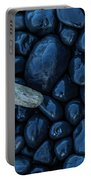 Driftwood Piece On The Shore Portable Battery Charger