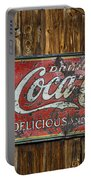Drink Coca Cola Sign Portable Battery Charger