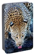 Drinking Leopard Portable Battery Charger