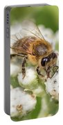 Drinking Up The Nectar, Apis Mellifera Portable Battery Charger