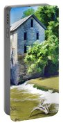 Drinkwater And Schriver Mill Cedar Point Kansas  Portable Battery Charger