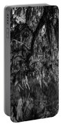 Drippin With Spanish Moss At Middleton Place Portable Battery Charger