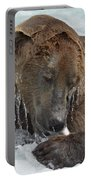 Dripping Grizzly Bear Portable Battery Charger