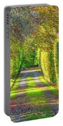Drive Into Autumn Portable Battery Charger