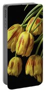 Drooping Tulips Portable Battery Charger