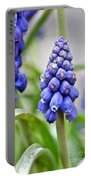 Drops Met Hyacinth Portable Battery Charger