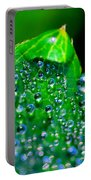 Drops On Leaf Portable Battery Charger