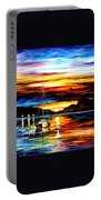 Drowned Sunset Portable Battery Charger