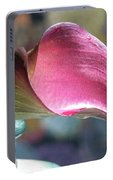 Drowsy Calla Lily Portable Battery Charger