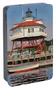 Drum Point Lighthouse Portable Battery Charger