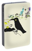 Drunkin Birds Come Calling Portable Battery Charger