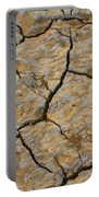 Dry Cracked Lake Bed Portable Battery Charger