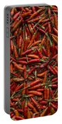 Drying Red Hot Chili Peppers Portable Battery Charger