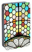 Dublin Art Deco Stained Glass Portable Battery Charger