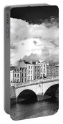 Dublin's Fairytales Around  River Liffey 3 Bw Portable Battery Charger