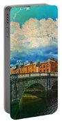 Dublin's Fairytales Around  River Liffey V4 Portable Battery Charger