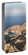 Dubrovnik And The Adriatic Coast In Croatia Portable Battery Charger