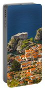 Dubrovnik Fortress From Above Portable Battery Charger