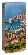 Dubrovnik From Above Portable Battery Charger