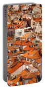 Dubrovnik Orange Old Town Rooftops Portable Battery Charger