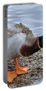 Duck Bath Alantic Beaches Nc Portable Battery Charger