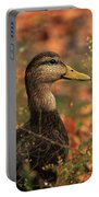 Duck In Autumn Portable Battery Charger