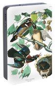 Lummer Or Wood Duck Portable Battery Charger