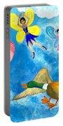 Duck Meets Fairy Ballet Class Portable Battery Charger