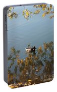 Duck On Golden Pond Portable Battery Charger