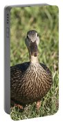 Duck Stare Portable Battery Charger
