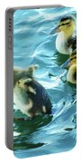 Ducklings Digital Water Color Portable Battery Charger
