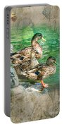 Ducks-a Portable Battery Charger