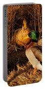 Ducks At Dusk Portable Battery Charger