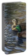 Ducks In The Pond Portable Battery Charger