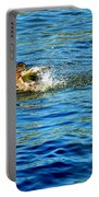 Ducks In Water Portable Battery Charger