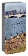 Ducks Of The Potomac Portable Battery Charger
