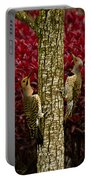 Dueling Woodpeckers Portable Battery Charger