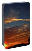 Dune Dreaming Impasto Portable Battery Charger