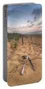 Dune Fencing Down Portable Battery Charger