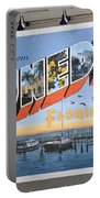 Dunedin Florida Post Card Portable Battery Charger