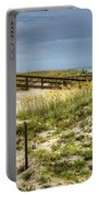 Dunes At Tybee Island Portable Battery Charger